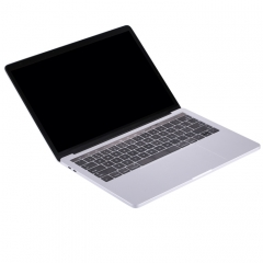 For Macbook Pro 13.3 inch Dark Screen Non-Working Fake Dummy Display Model ( The Keys of Keyboard Can be Pressed)(Silver)