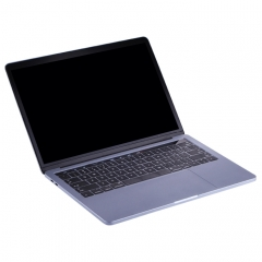 For Macbook Pro 13.3 inch Dark Screen Non-Working Fake Dummy Display Model ( The Keys of Keyboard Can be Pressed)(Grey)