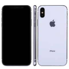 For iPhone X Dark Screen Non-Working Fake Dummy Display Model(White)