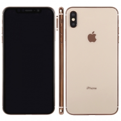 Dark Screen Non-Working Fake Dummy Display Model for  iPhone XS Max (Gold)