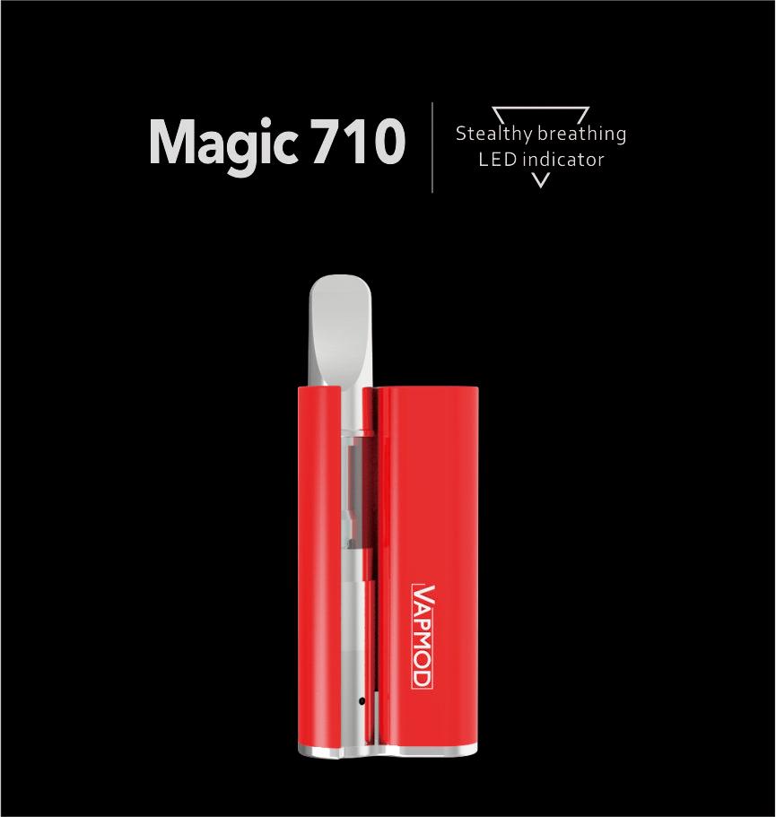 Magic 710,Batteries & Mods