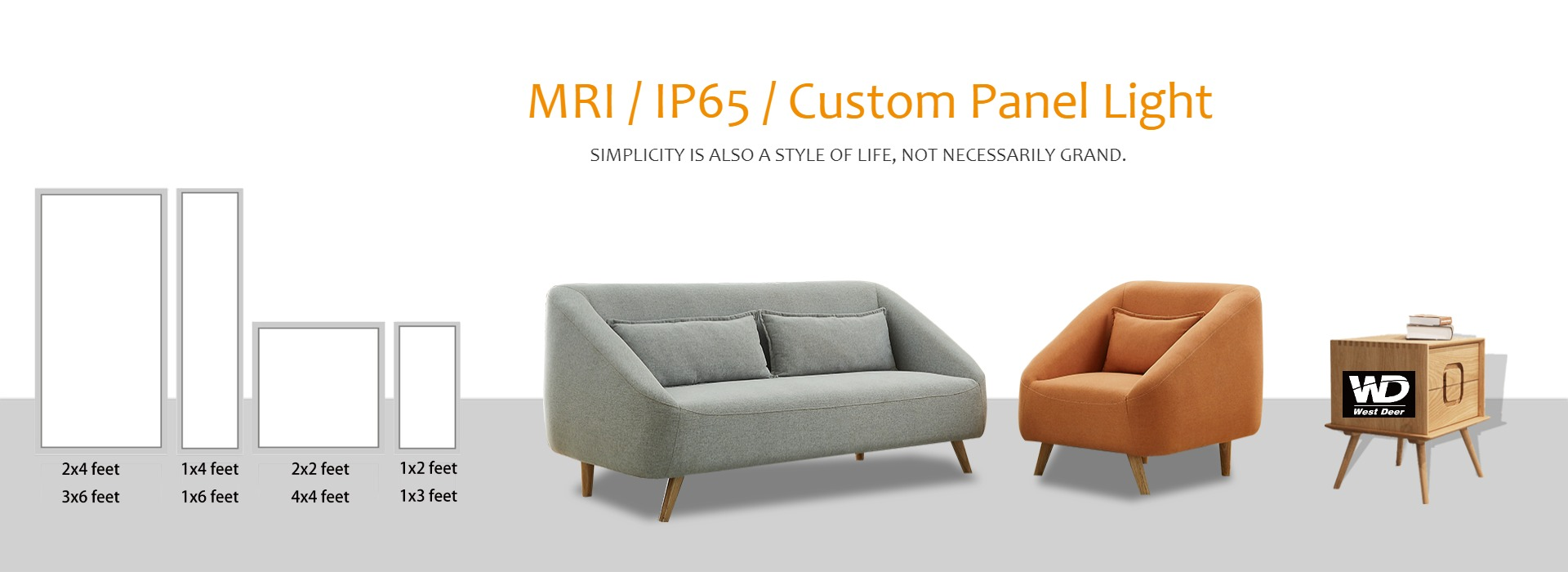 MRI IP67 Custom Dimension Panel Light