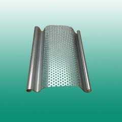 SGP110 big size perforated steel rolling shutter doors