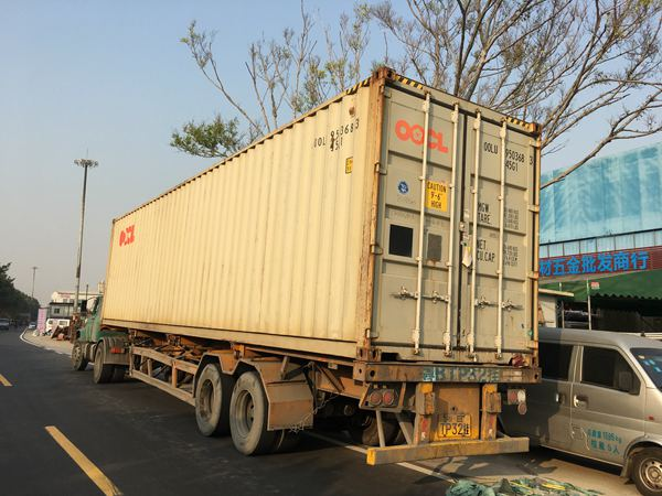 one 40 feet container of aluminum and polycarbonate roller shutter door materials, to be shipped to Gulf area