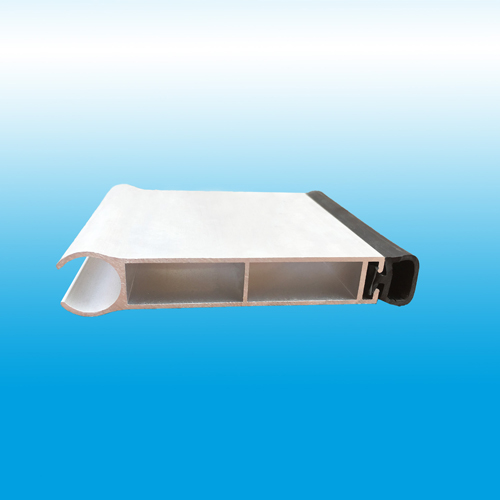 bottom bar for polycarboante rolling shutter door