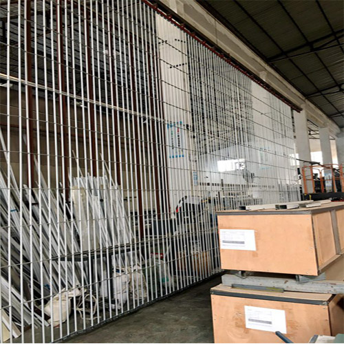 Side folding security grilles shutter | Security closures manufacturer in China