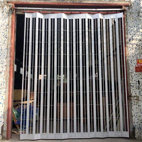Aluminum side folding grilles & closures