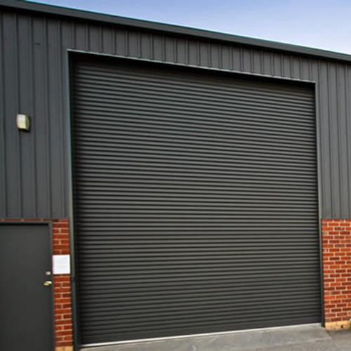 Galvanized steel rolling shutters