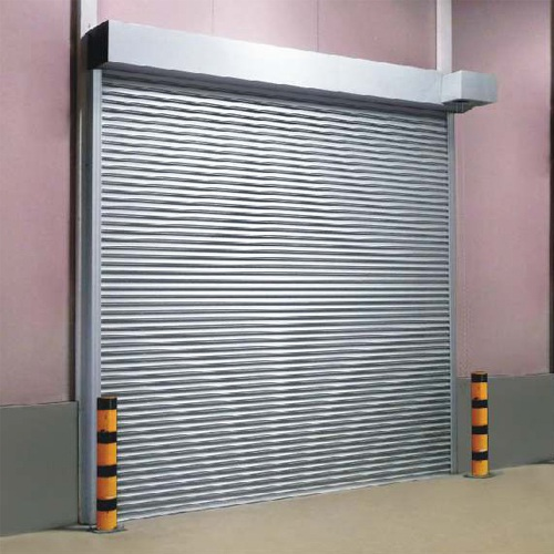 Galvanized steel rolling shutter door in China | SG82