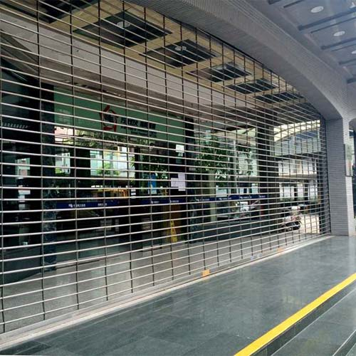Stainless Steel Rolling Security Gates & Grilles | Factory from China