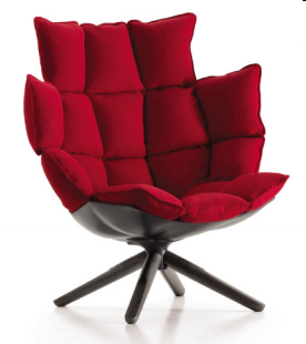 Modern Designer Furniture Soft fabric Lounge Chair Italia Armchair