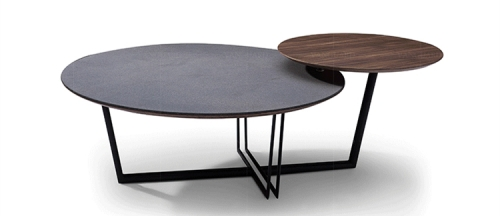 Modern Designer Furniture With Side Table Metal Round Coffee Tables