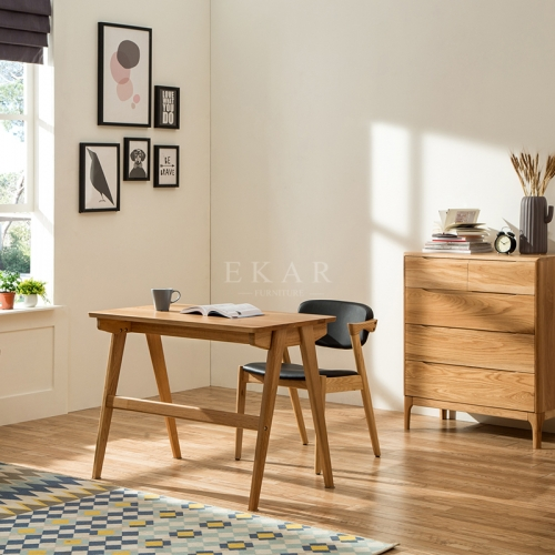 European Modern Furniture Computer Book Desk Wooden Study Table