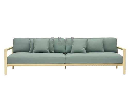 Furniture Stores Blue Green Sofa Settee Price