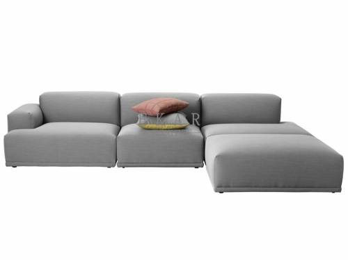 Modern Grey Fabric Soft Couches For Sale