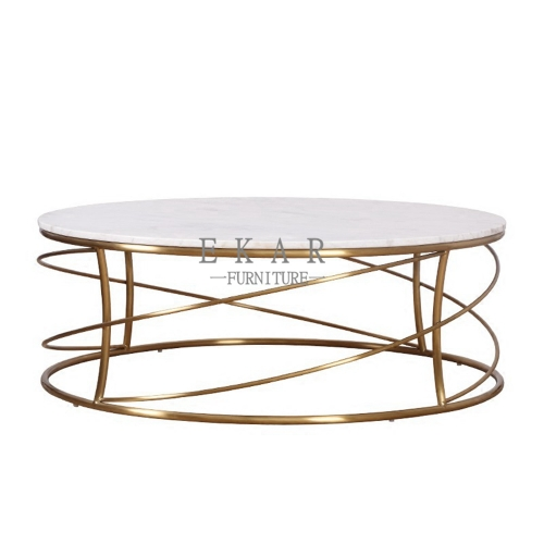 Marble Circle Coffee Table Furniture Store