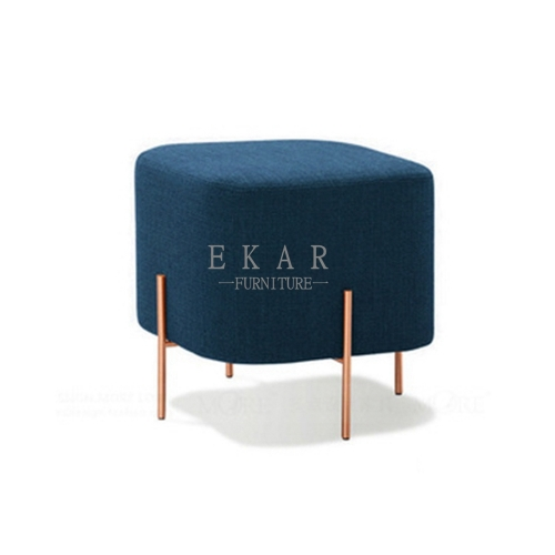 Small Fabric Chair Comfy Living Room Stool Furniture