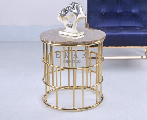 Sofa Side Modern Round End Table