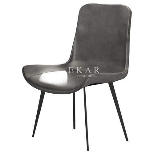 Modern Leather Simple Design Dining Chair