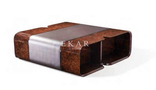 Contemporary Large Square Coffee Table