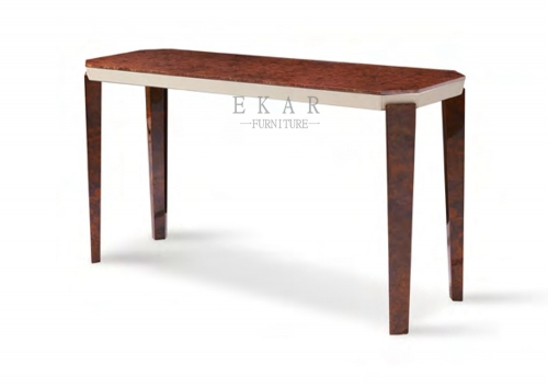 Modern Living Room Wooden Console Table