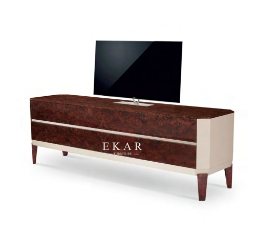 Modern Style Living Room Tv Stand With Cabinet