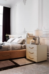 Modern bedroom luxury bed side table