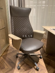Home Swivel Leather Executive Office Chair