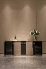 High Gloss Luxury Dining Room Furniture Sideboard