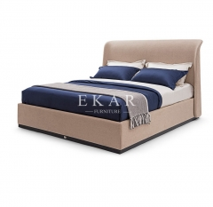 High End Fabric Upholstery Modern Bed