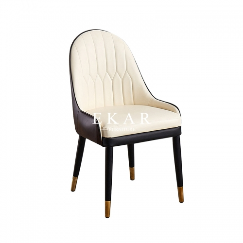 Leather Upholstered Contemporary Dining Room Chair