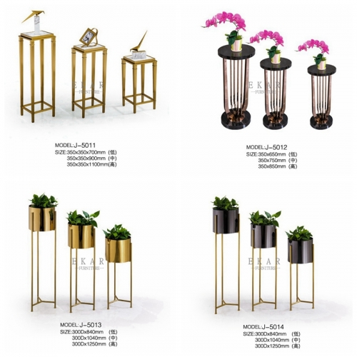 Stainless Steel Modern Decoration Flower Stand