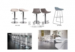 New Fahsion Metal Leg Bar Stool Without Armrest