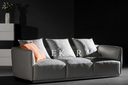 Contemporary Italian Upholstered 3 Seater Sofa