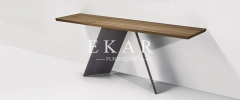 Simple Contemporary Design Stainless steel Console Table