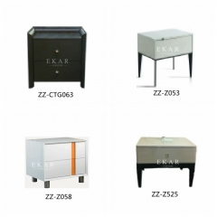 Modern Design MDF Bedroom Nightstand