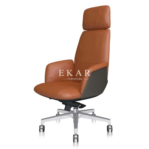 Postmodern Design High-End Leather Luxury Executive Office Chair