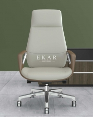 Upholstery Leather Luxury Swivel Executive Adjustable CEO High-End Office Chair