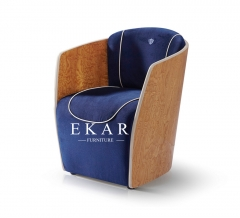 Modern Fabric Upholstered Leisure Chair