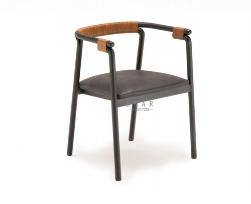 Plywood stick high density foam cover with upholstery dining chair