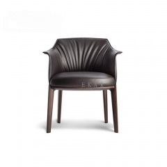 Ashwood lacquered in matt base dining chair