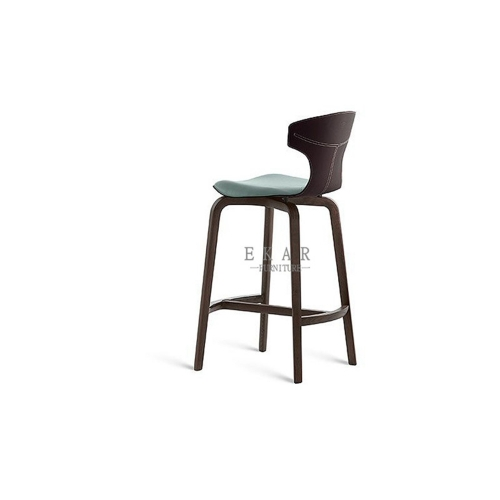 Ashwood in matte black base dining chair