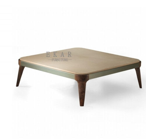 5mm tempered glass on top coffee table