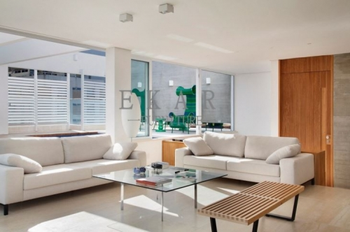 Contemporary Fashion European Style White Tones Interior Design Furniture Villa Project