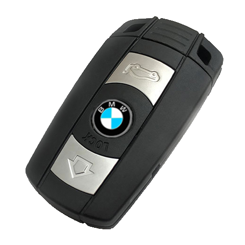 BMW CAS3 Remote 868MHz Remote 3 Buttons Car Key Smart  For BMW 1 3 5 6 Series E90 E91 E92 E60 With Logo