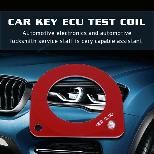 NEW Professional Car Key ECU Test Coil Automotive ECU Induction Signal Detection Card Auto Diagnostic Tool Theft Coil Detection for Mercedes