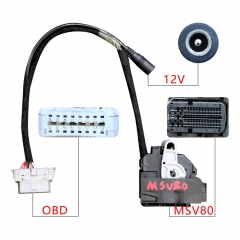 High Quality for BMW ISN DME Cable for MSV and MSD Works With Xhorse VVDI2 or CGDI for BMW