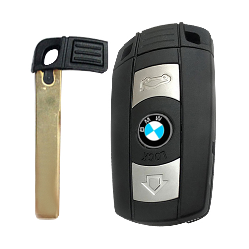 WALKLEE Remote Smart Key Anzug für BMW CAS3 System 433MHz 315MHz Optional