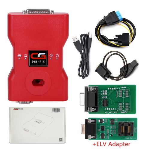 2019 CGDI MB Benz Key Programmer Support All Key Lost with ELV Repair Adapter