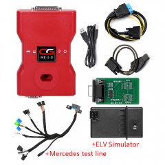 CGDI Prog MB With Full Adapters  & ELV Emulator & Mercedes test line